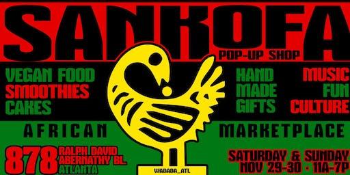 Sankofa Pop Up Shop