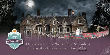 Halloween Train at Wells House - Thursday, 31st October from 11am tickets
