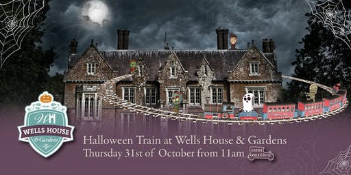Halloween Train at Wells House - Thursday, 31st October from 11am