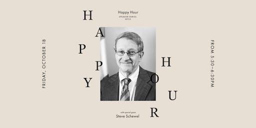 Happy Hour at Vert & Vogue with Durham's Steve Schewel