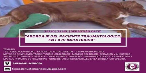 ABORDAJE DEL PACIENTE TRAUMATOLÓGICO EN LA CLÍNICA del MV Sebastián Ortiz
