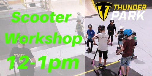 Stunt Scooter workshops 12-1pm  - Charity Taster event