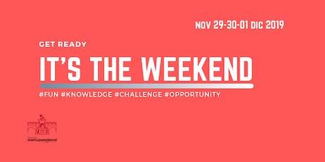 Techstars Startup Weekend Potenza 2019 biglietti