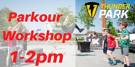 Parkour Workshop - Charity Taster event - 1-2pm tickets