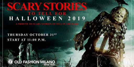 "Halloween ""Scary Stories"""