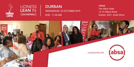Lioness Lean In ENTERPRISE Event, Durban tickets