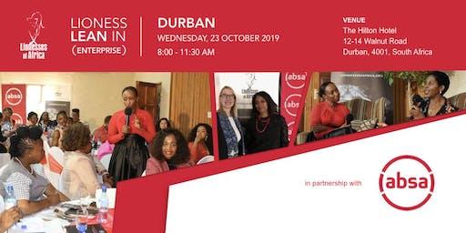 Lioness Lean In ENTERPRISE Event, Durban