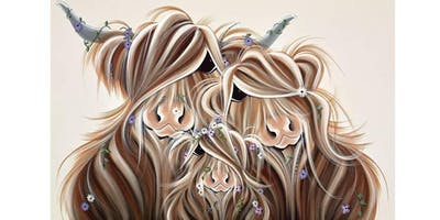 Come and meet Jennifer Hogwood at gallery i in Inverurie