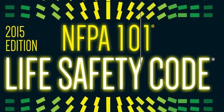 NFPA 101 (2015 Ed.) Workshop tickets
