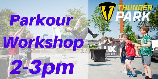 Parkour Workshop - Charity Taster event - 2-3pm