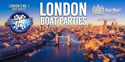 London Boat Party with FREE After Party!