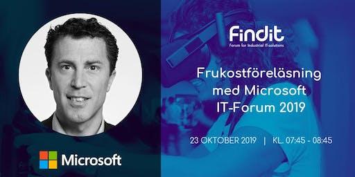 Anmälan till Microsofts frukostföreläsning på IT Forum 2019