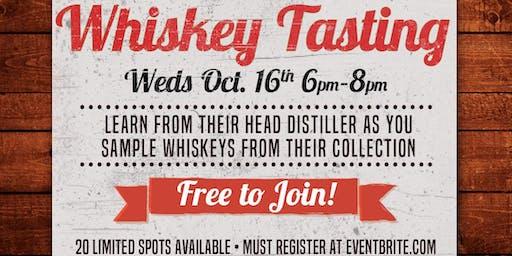 Noble Cut Distillery Whiskey Tasting