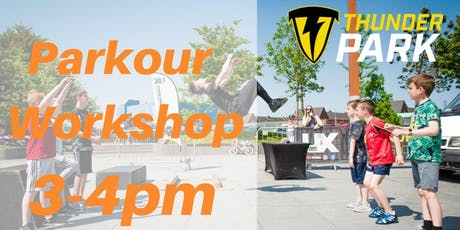 Parkour Workshop - Charity Taster event - 3 - 4pm tickets