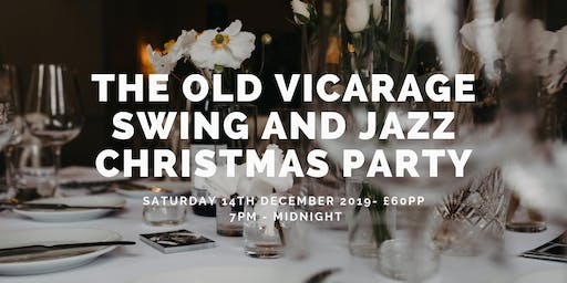 Swing and Jazz Christmas Dinner Party