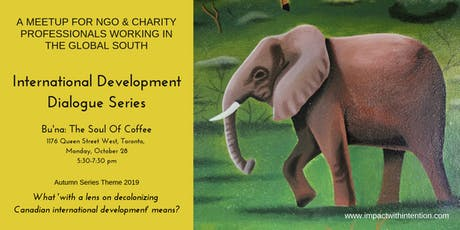 A meetup for NGO & Charity professionals working in the global south tickets