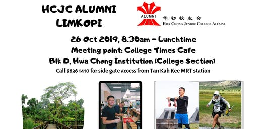 LimKopi with HCJC Alumni 26 Oct 2019