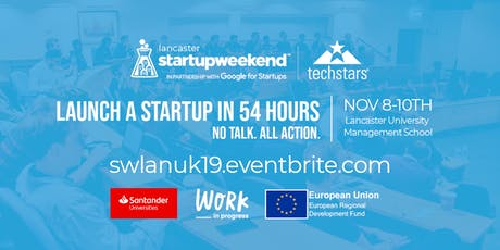 Techstars Startup Weekend Lancaster 2019 tickets