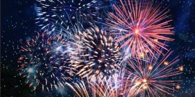 Coalville firework extravaganza