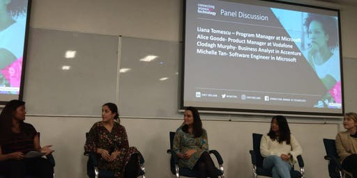 CWIT Tech Starter & Maynooth Women in STEM Panel Discussion