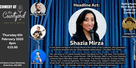 Comedy Night with Shazia Mirza tickets