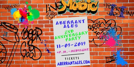 Aberrant Ales 2nd Anniversary Party tickets