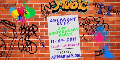 Aberrant Ales 2nd Anniversary Party