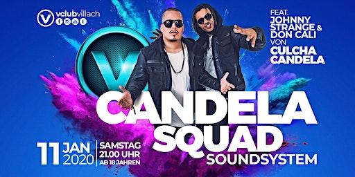 Candela Squad Soundsytem LIVE im V-Club Villach