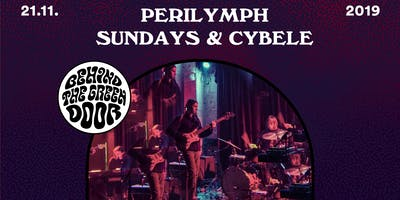 Perilymph + Sundays & Cybele // behind the green door