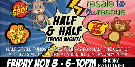 """Half & Half"" Trivia Night tickets"