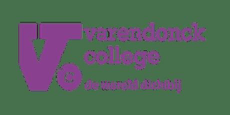 Informatieavond Varendonck College Someren voor ouders van groep 7 & 8 tickets