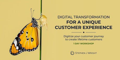 "1-day ""Digitize Your Customer Journey"" Workshop  tickets"