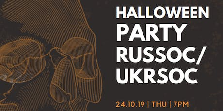RusSoc Halloween Party 2019 tickets