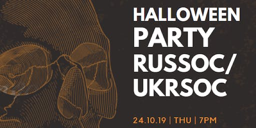 RusSoc Halloween Party 2019