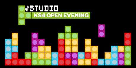 The Studio KS4 Open Evening, 5-7pm tickets