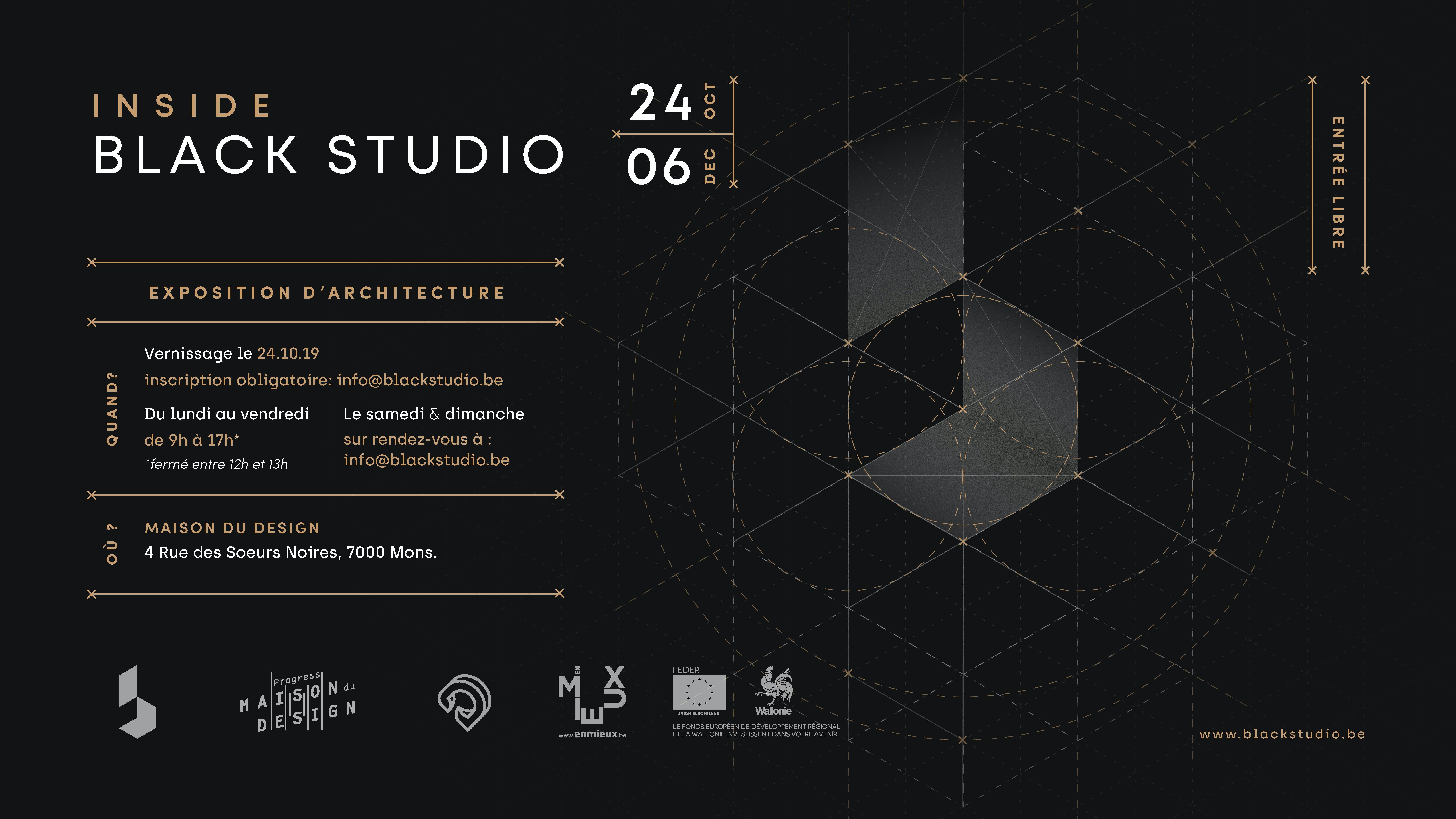 INSIDE BLACK STUDIO : Focus sur les travaux d'architecture de Black Studio.