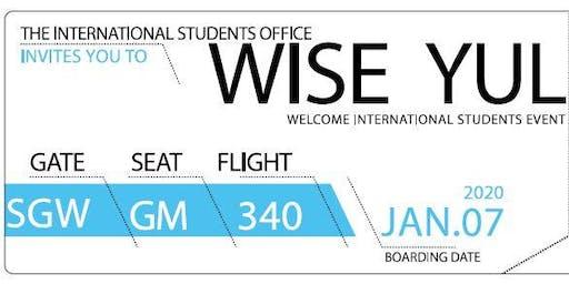 WISE YUL Winter 2020