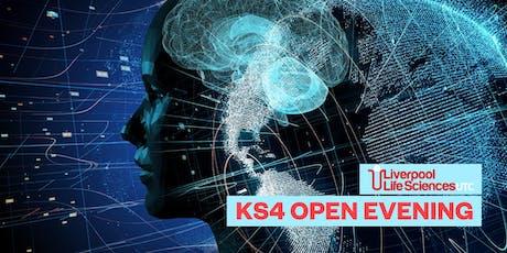 Liverpool Life Sciences UTC KS4 Open Evening tickets