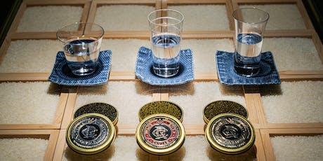 Caviar and Sake Tasting tickets