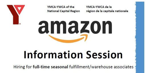 Copy of Information Session - Amazon Fulfillment Associate