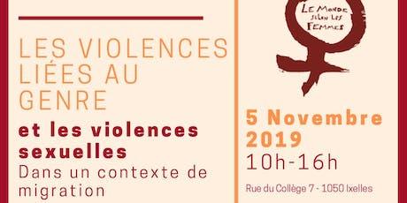 Formation: Les Violences Liées au Genre et Violences Sexuelles billets