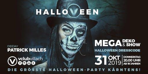 Hallo-V-een - die größte Halloween Party Kärntens im V-Club Villach