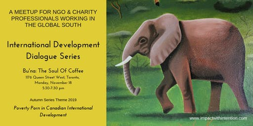 A meetup for NGO & Charity professionals working in the global south