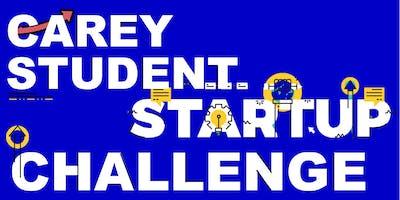 Carey Student Startup Challenge