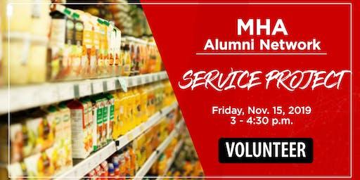 Volunteer at Utah Food Bank w/ U of U MHA Alumni