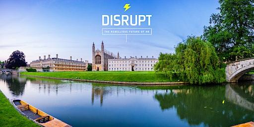 DisruptHR Cambridge #2