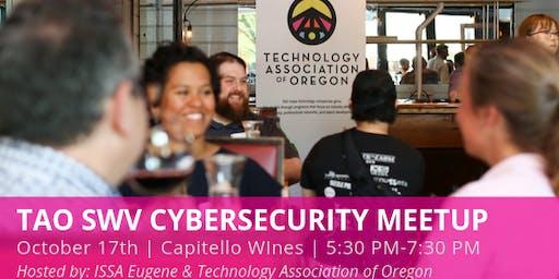 Eugene ISSA & Technology Association of Oregon October Cyber Security Meetup