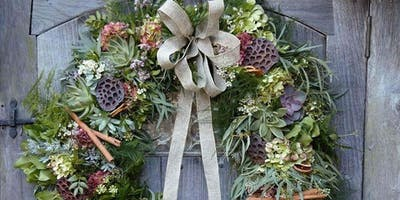 Wreath Making Workshop with The Little Botanical & The Floral Artisan
