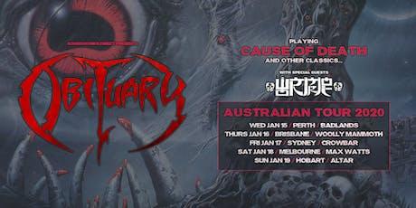 OBITUARY - Brisbane tickets