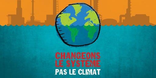 CONFÉRENCE JQSI 2019 - Changeons le système, pas le climat!